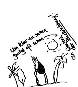 Kopf im Sand - Stressmanagement mal anders KaGa
