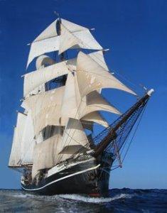 Schiff Regine im KlassenSegelAbenteuer
