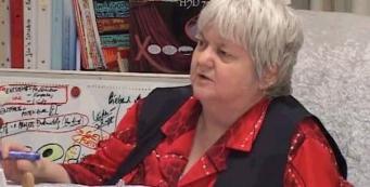 Vera F. Birkenbihl im Institut für gehirn-gerechtes Arbeiten