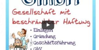 Humorkochbuch | Mehr Spaß im Seminar | (inkl kreativem LernVideo BWL: Rechtsformen)