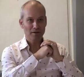 Matthias Pöhm mit (er)leuchtenden Augen