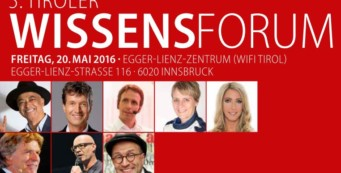 Tiroler WissensForum 2016 – Von den Besten lernen