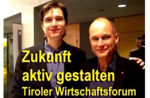 Weltumsegler Bertrand Piccard mit Andreas Giermaier
