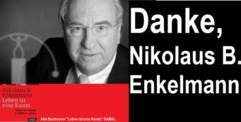 Enkelmann, Nikolaus B. – Danke. Grand Seigneur der Rhetorik | Persönlicher Nachruf